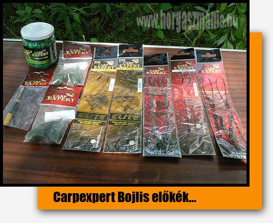 CarpExpert bojlis előkék