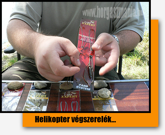 CarpExpert Helicopter rig