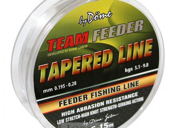 Team Feeder Tapered Leader előtét zsinór | HorgászMánia friss horgász hírek