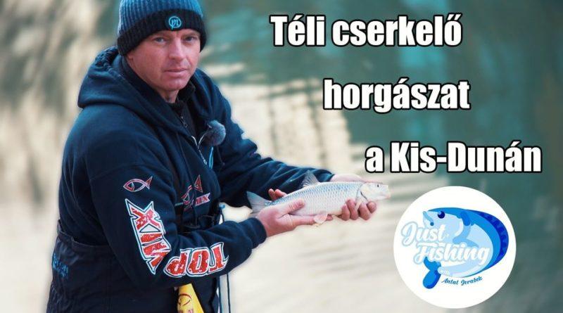 Téli cserkelő horgászat a Kis-Dunán | HorgászMánia friss horgász hírek