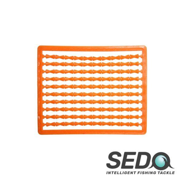 SEDO Boilie Fluoro Hair Stops Orange | HorgászMánia friss horgász hírek