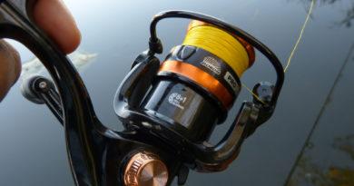 Pergetés a Bokor Pro Spin JF orsóval | HorgászMánia friss horgász hírek