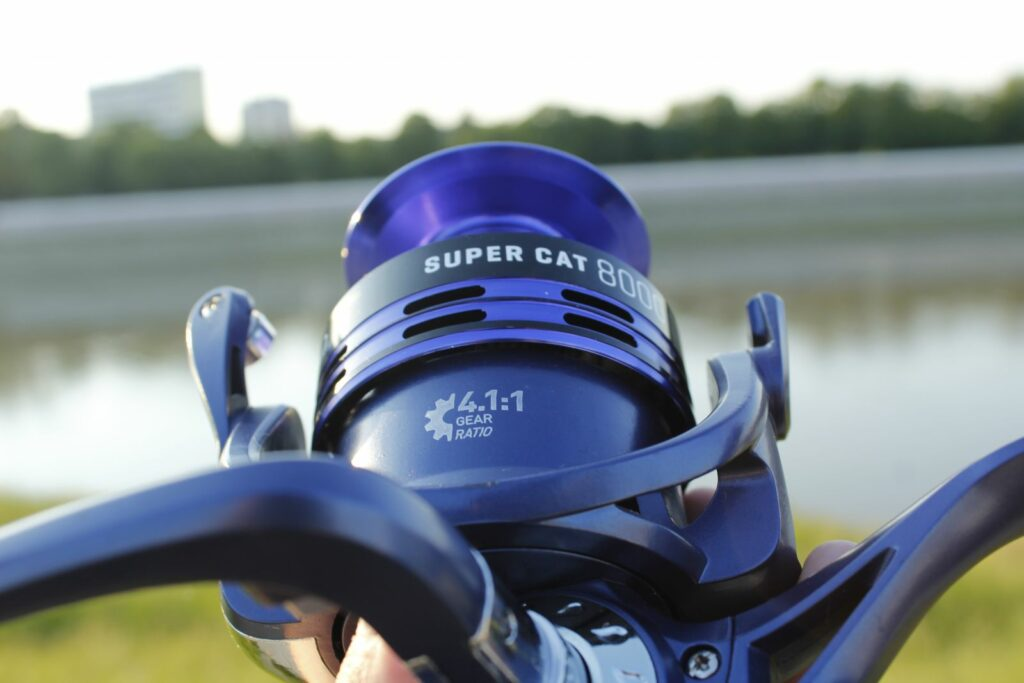 Kamasaki Super Cat 8000 harcsázó orsó | HorgászMánia friss horgász hírek