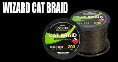 Wizard cat braid harcsázó fonott zsinór