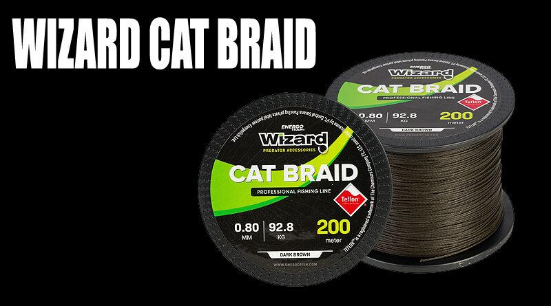 Wizard cat braid harcsázó fonott zsinór | HorgászMánia friss horgász hírek